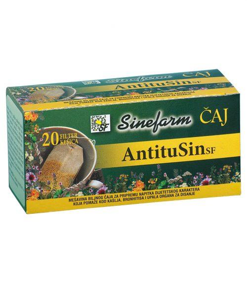 Antitusin-filter