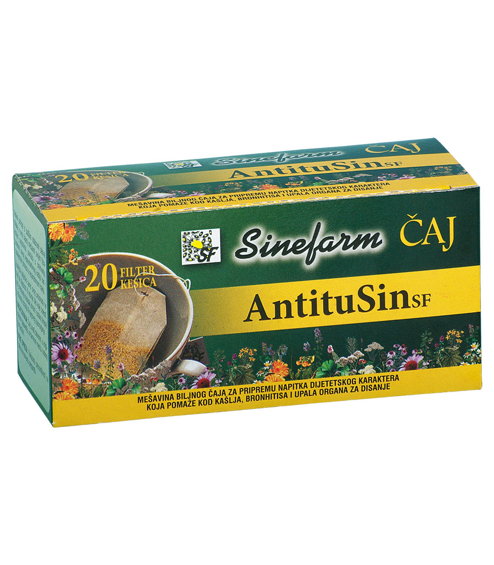 Čaj protiv kašlja -30 g-e filter kesice-ANTITUSIN