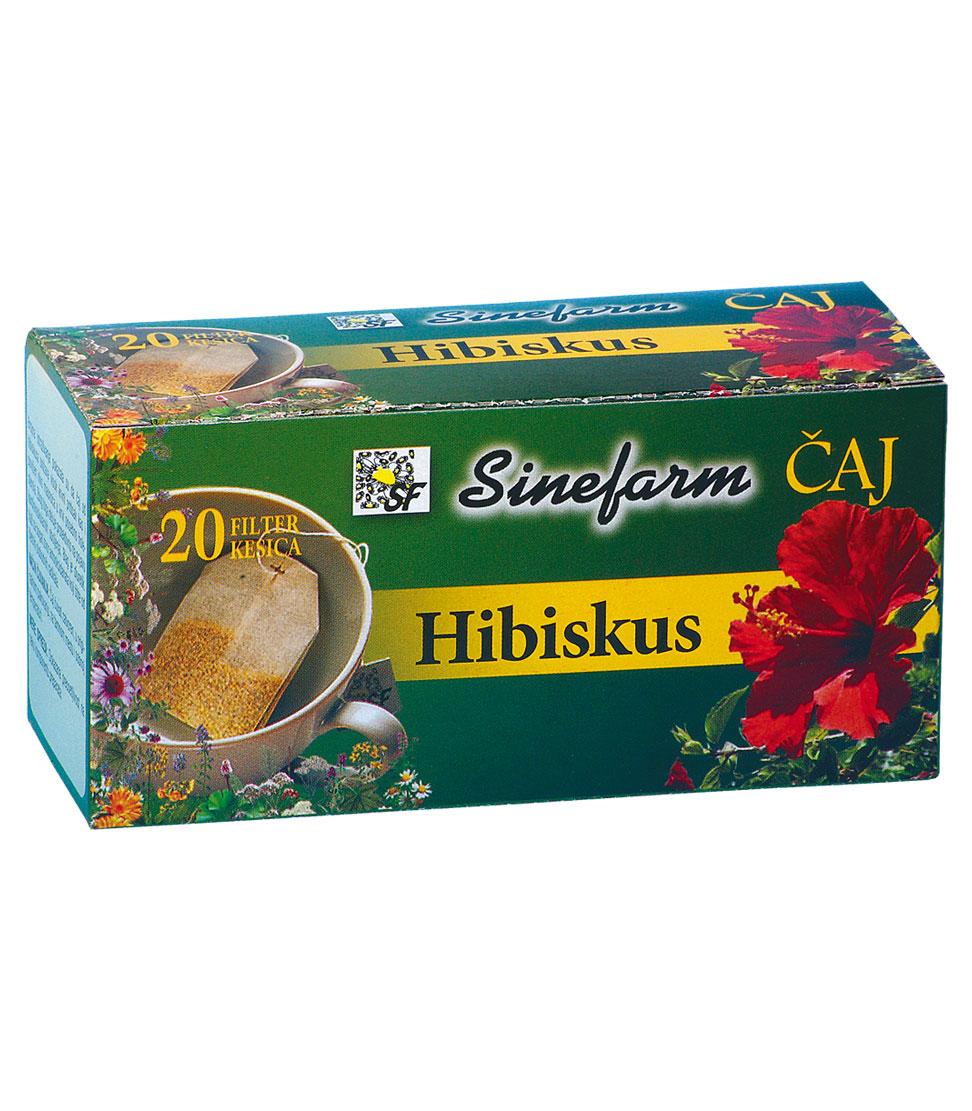 Hibiskus čaj-filter kesice-30 g-e