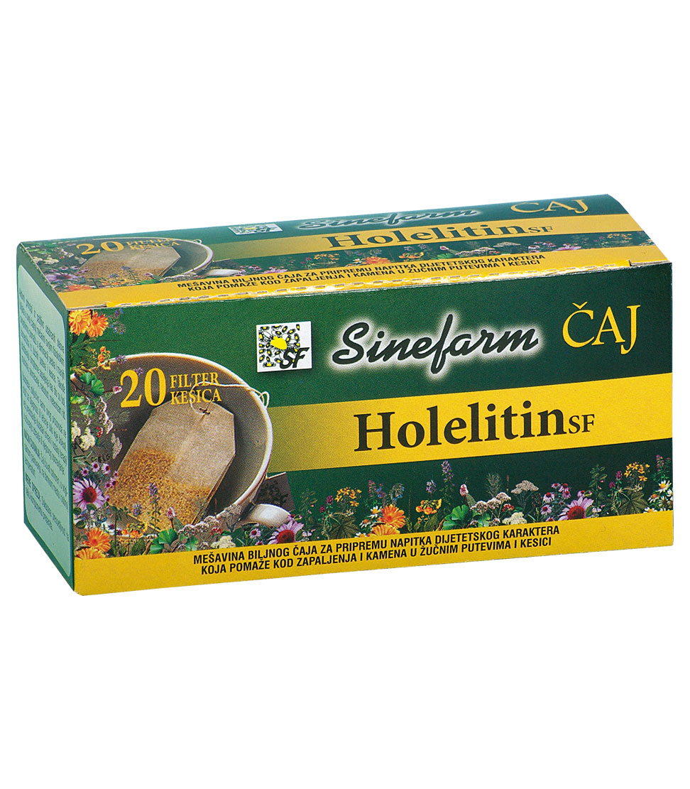 Čaj protiv kamena u žuči -30 g-e filter kesice-HOLELITIN