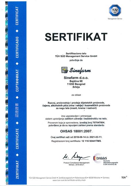 ISO-18001-SR