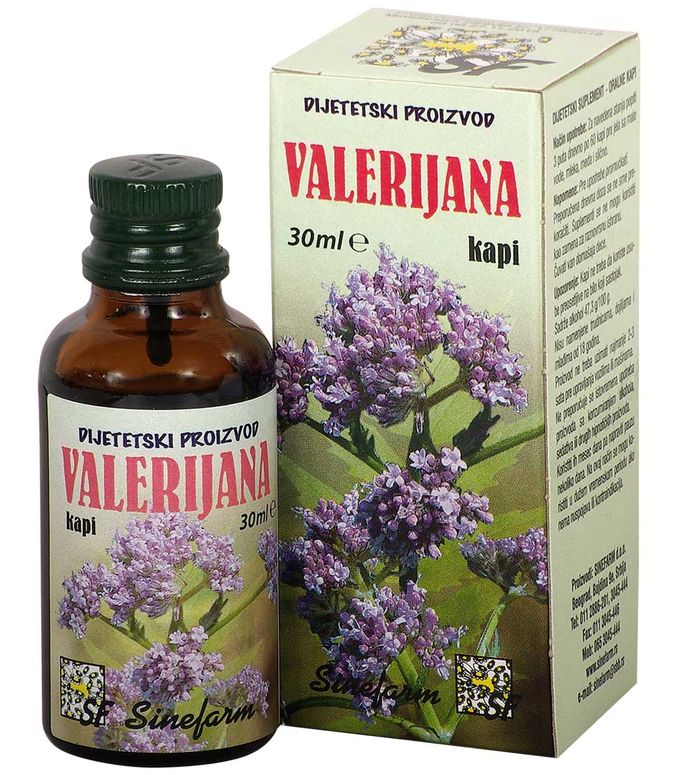 Kapi od valerijane-30 ml-e