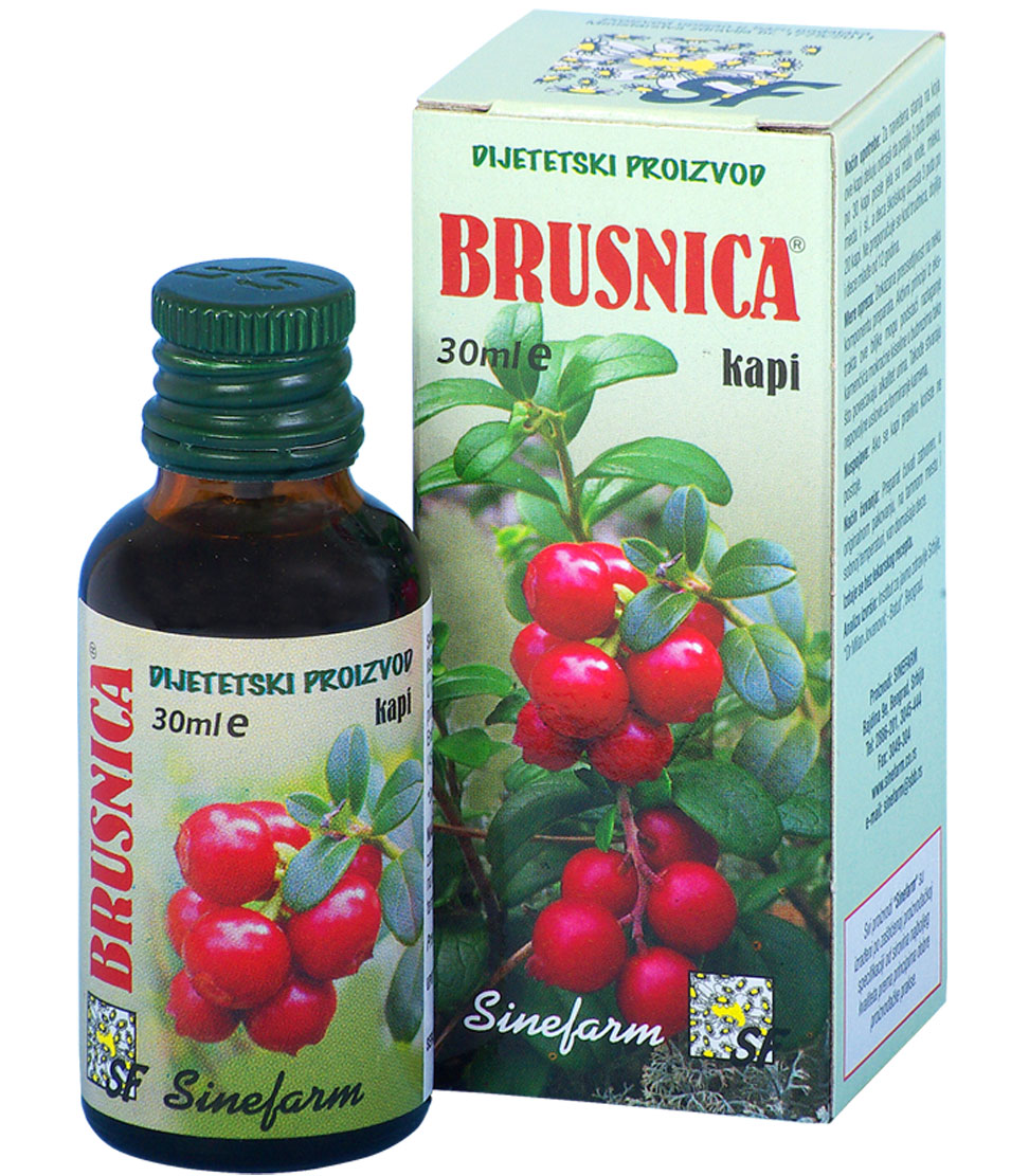 Kapi od brusnice-30 ml-e