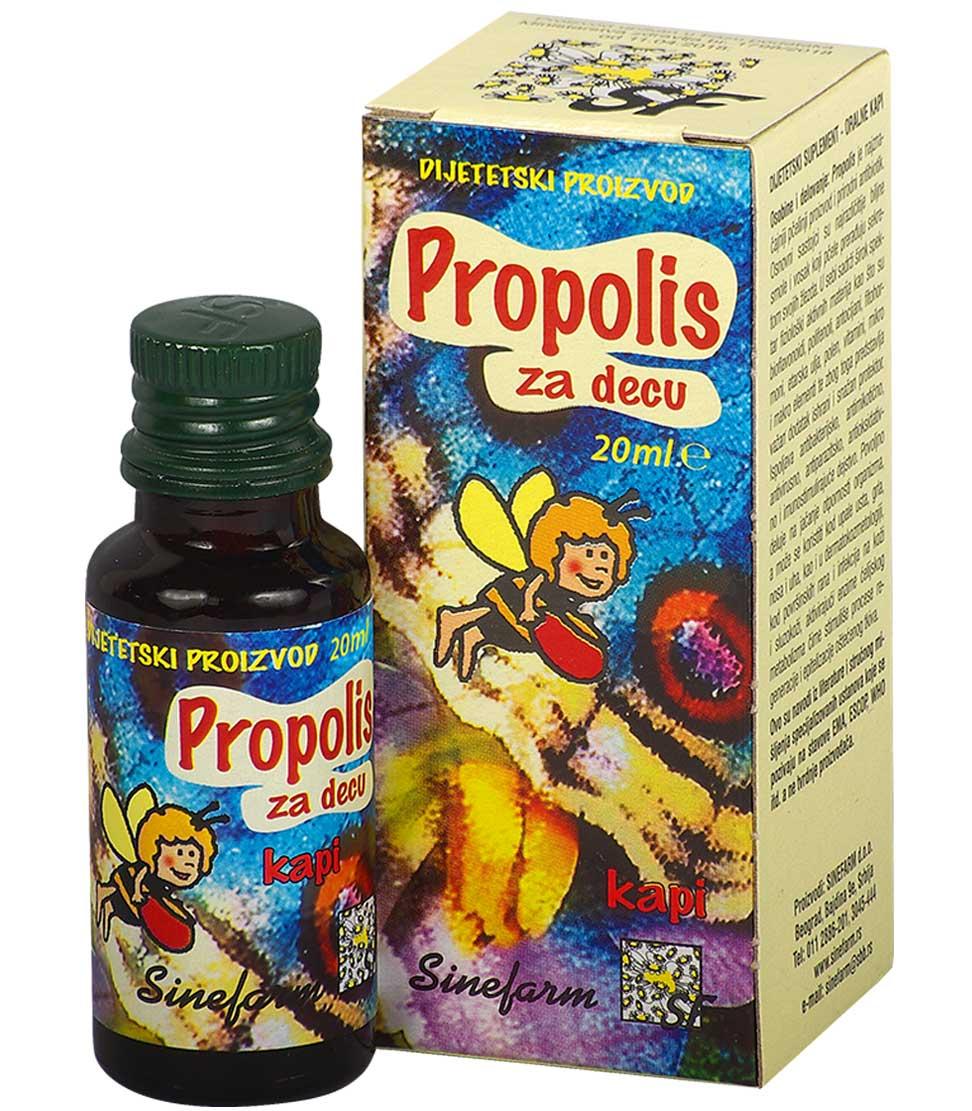 Propolis kapi za decu-20 ml-e