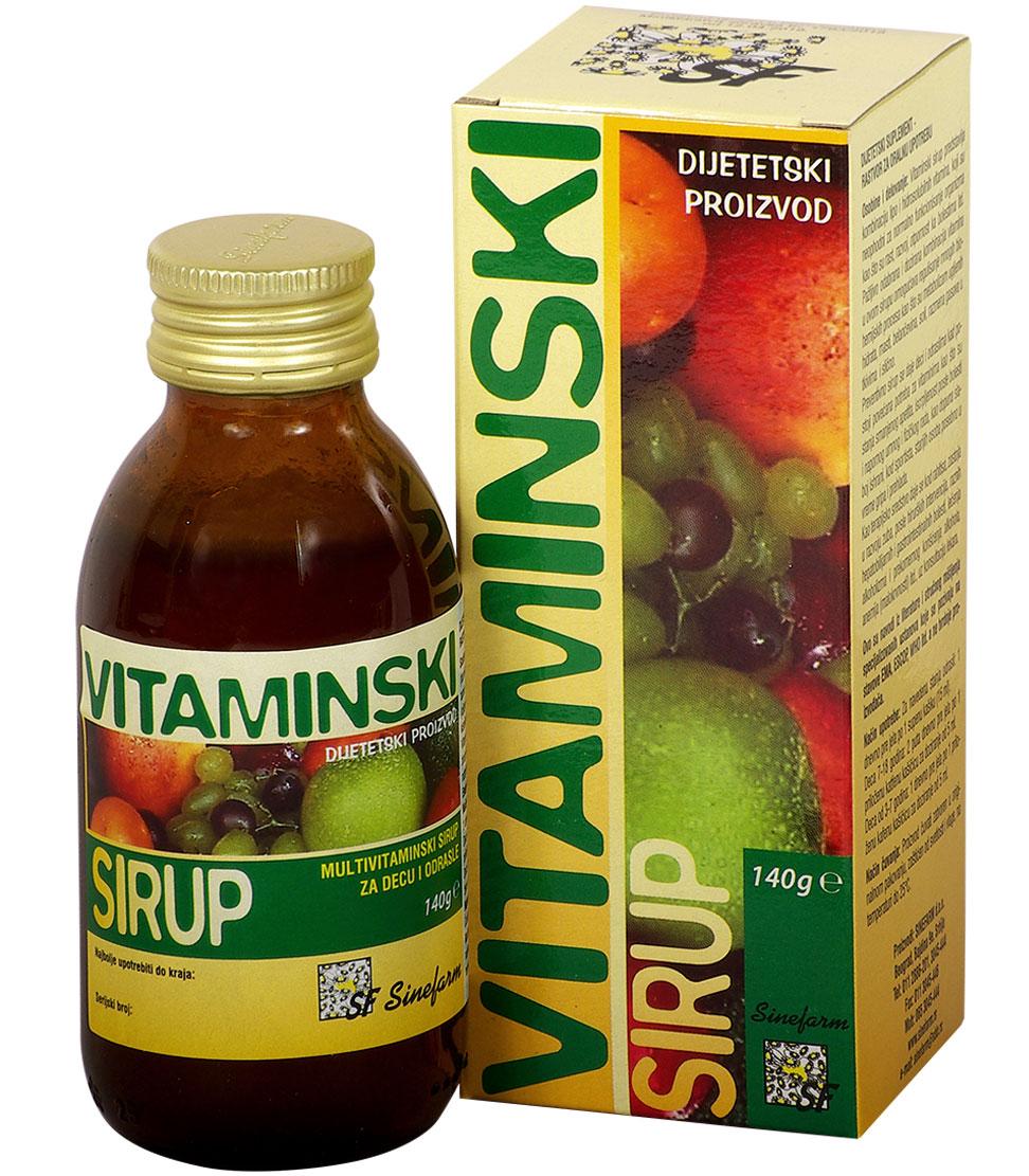 Sirup vitaminski-140 g-e