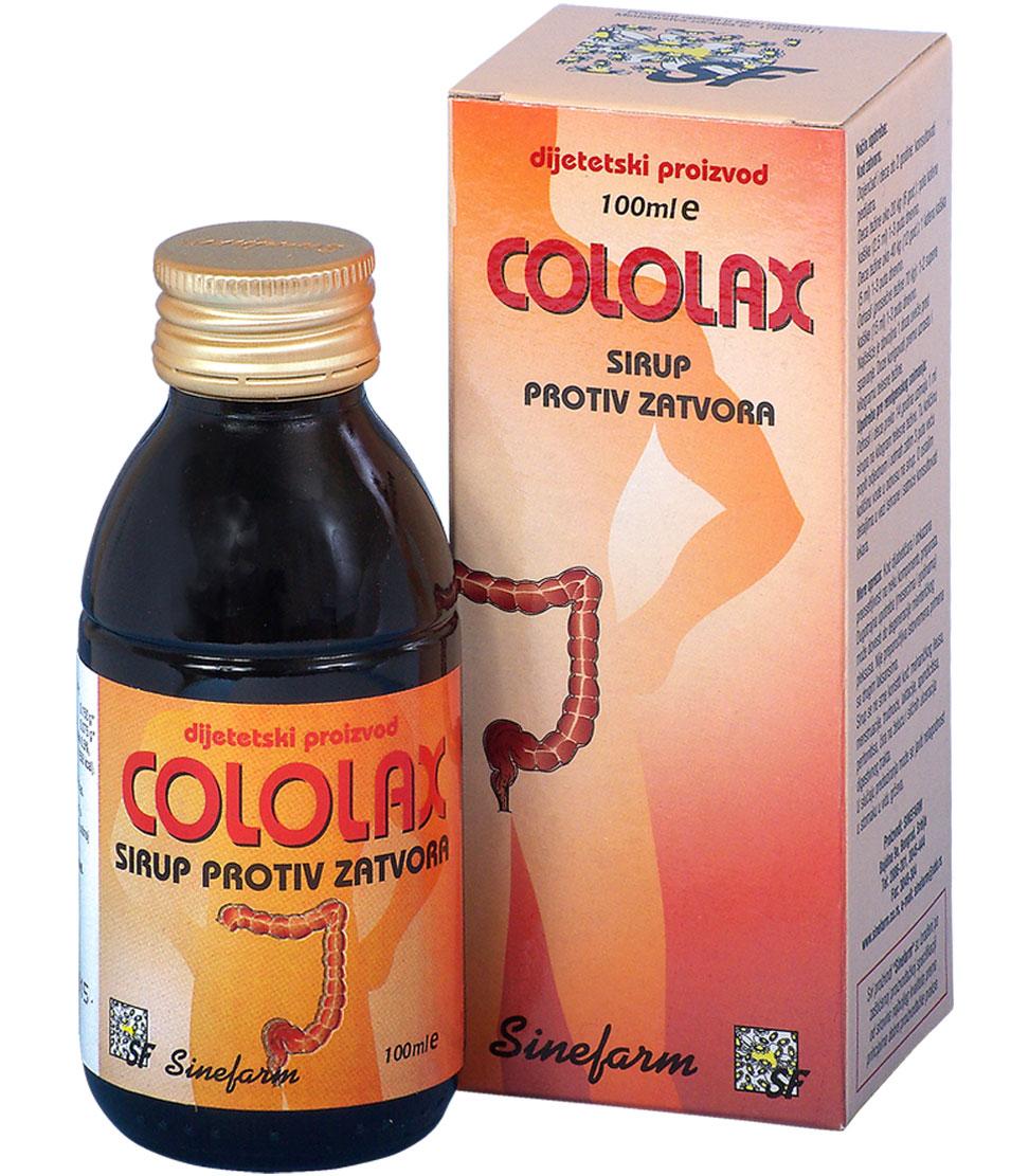 Sirup protiv zatvora-100 ml-e COLOLAX