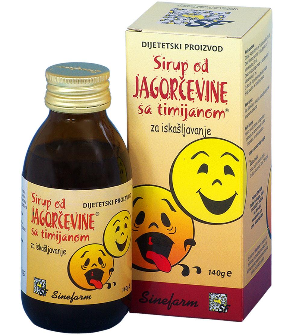 Sirup od jagorčevine sa timijanom<br>-140 g-e