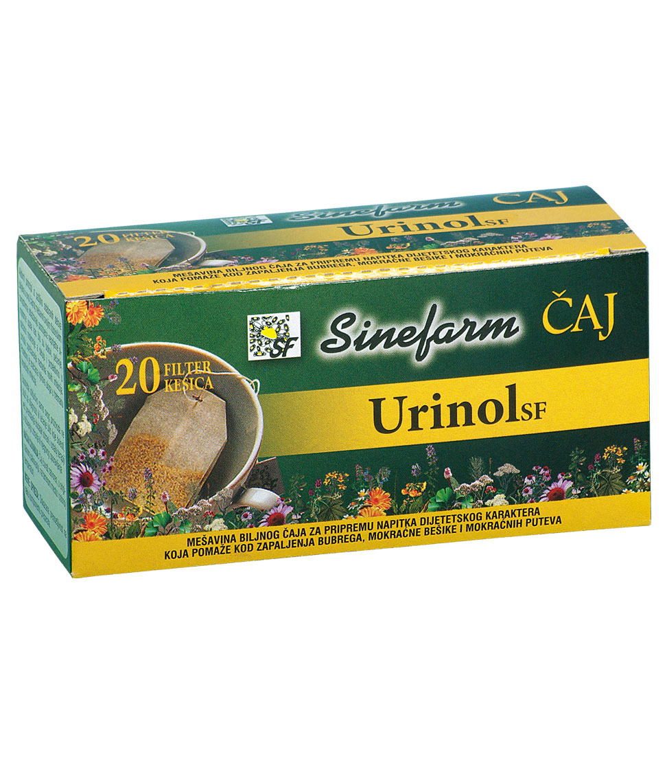 Čaj protiv zapaljenja bubrega -30 g-e <br>filter kesice-URINOL
