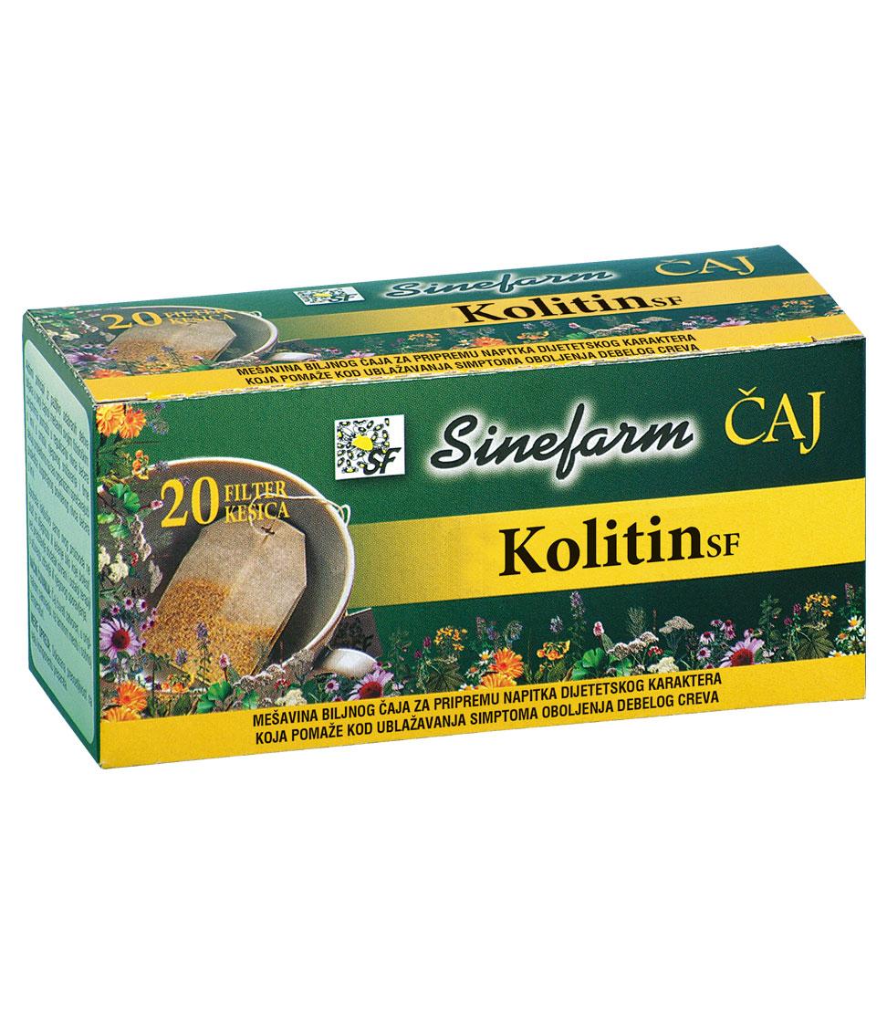 Čaj protiv oboljenja debelog creva- 30 g-e filter kesice-KOLITIN