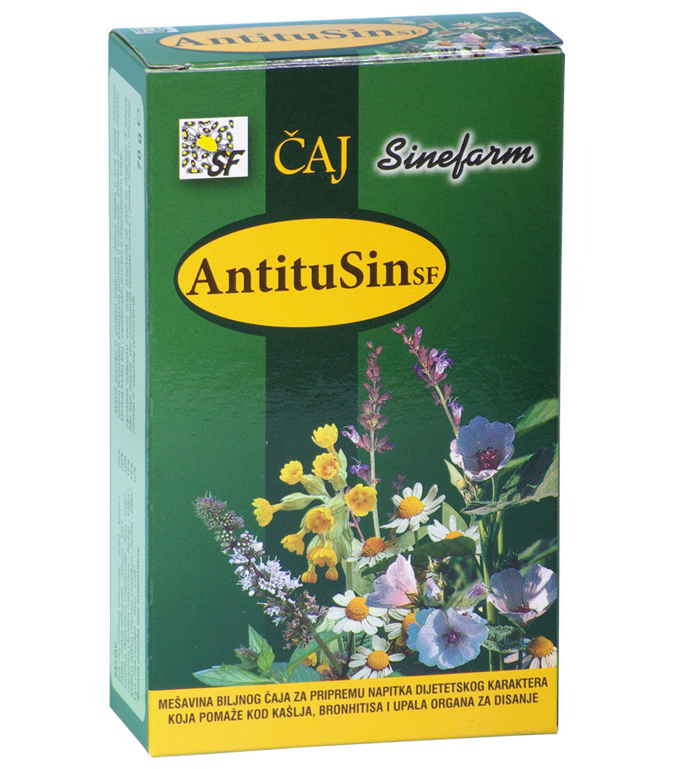 Čaj protiv kašlja-70 g-e rinfuz-ANTITUSIN