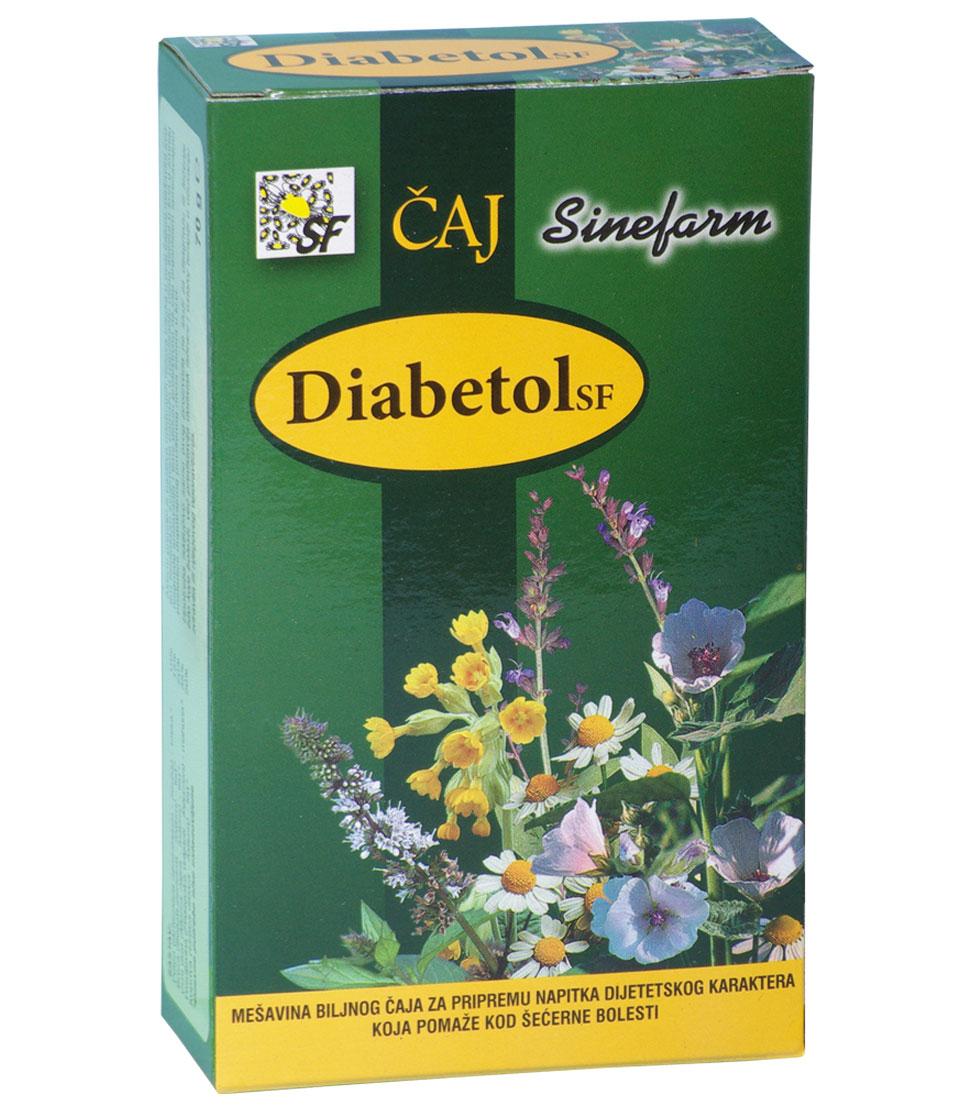 Čaj protiv šećerne bolesti-70 g-e rinfuz-DIABETOL