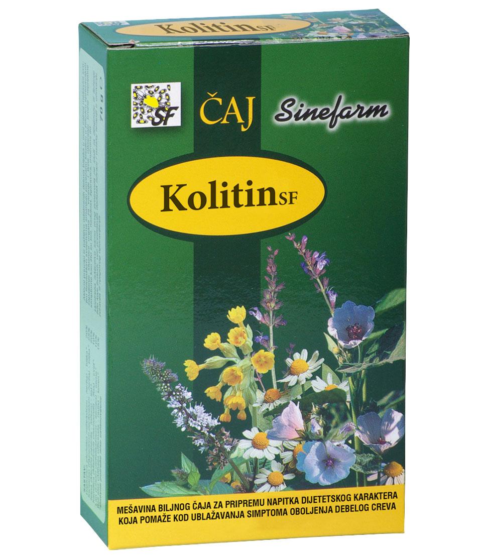 Čaj protiv oboljenja debelog creva<br>-70 g-e rinfuz-KOLITIN