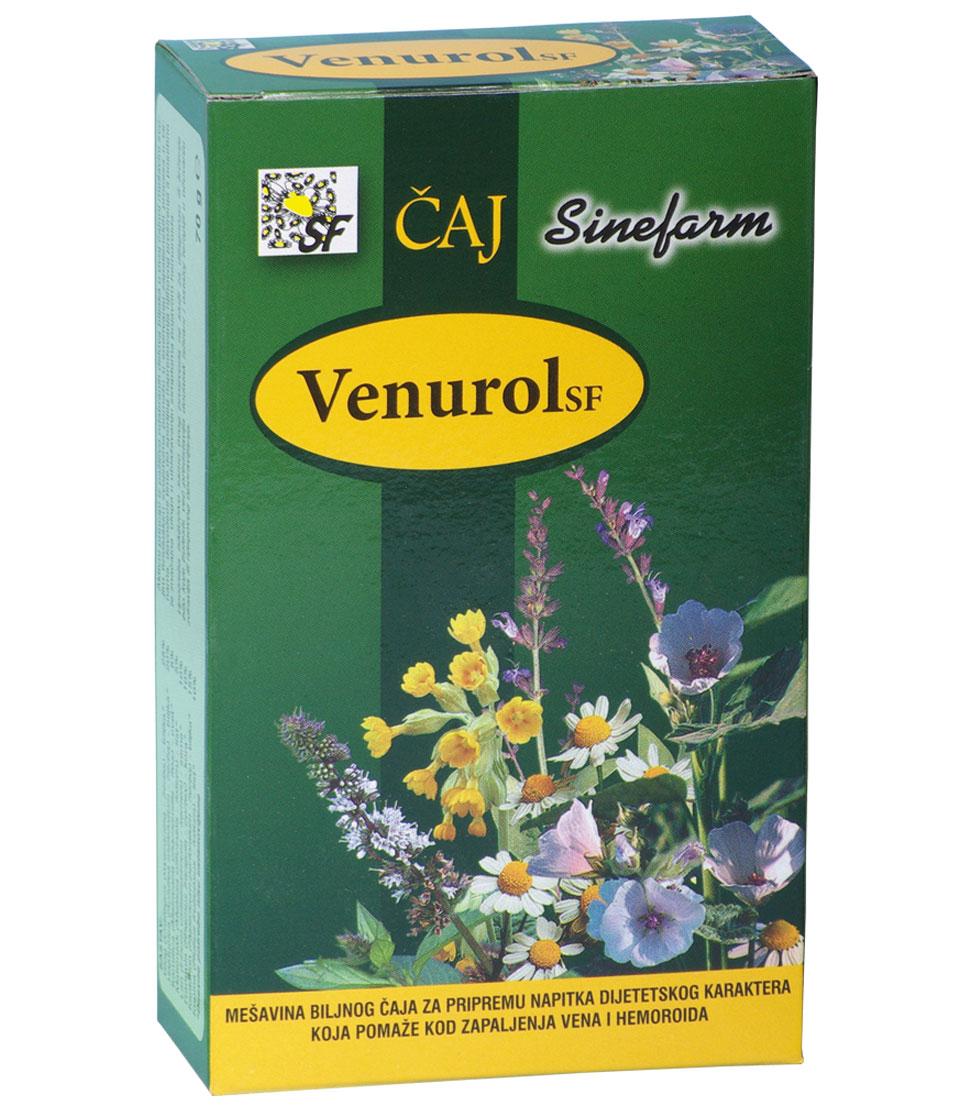 Čaj protiv zapaljenja vena-70 g-e rinfuz-VENUROL