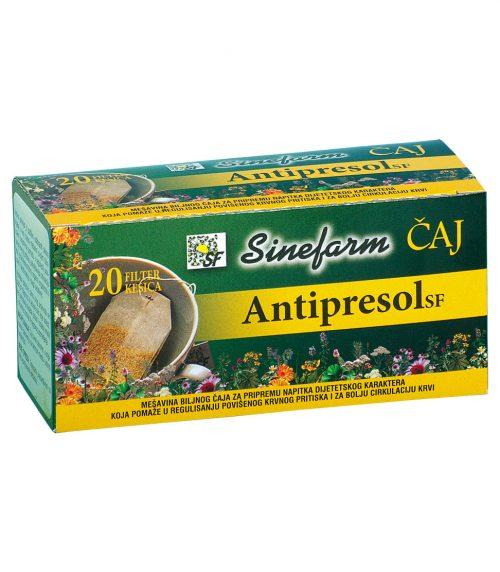 Antipresol filter