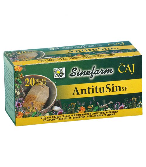 Antitusin filter