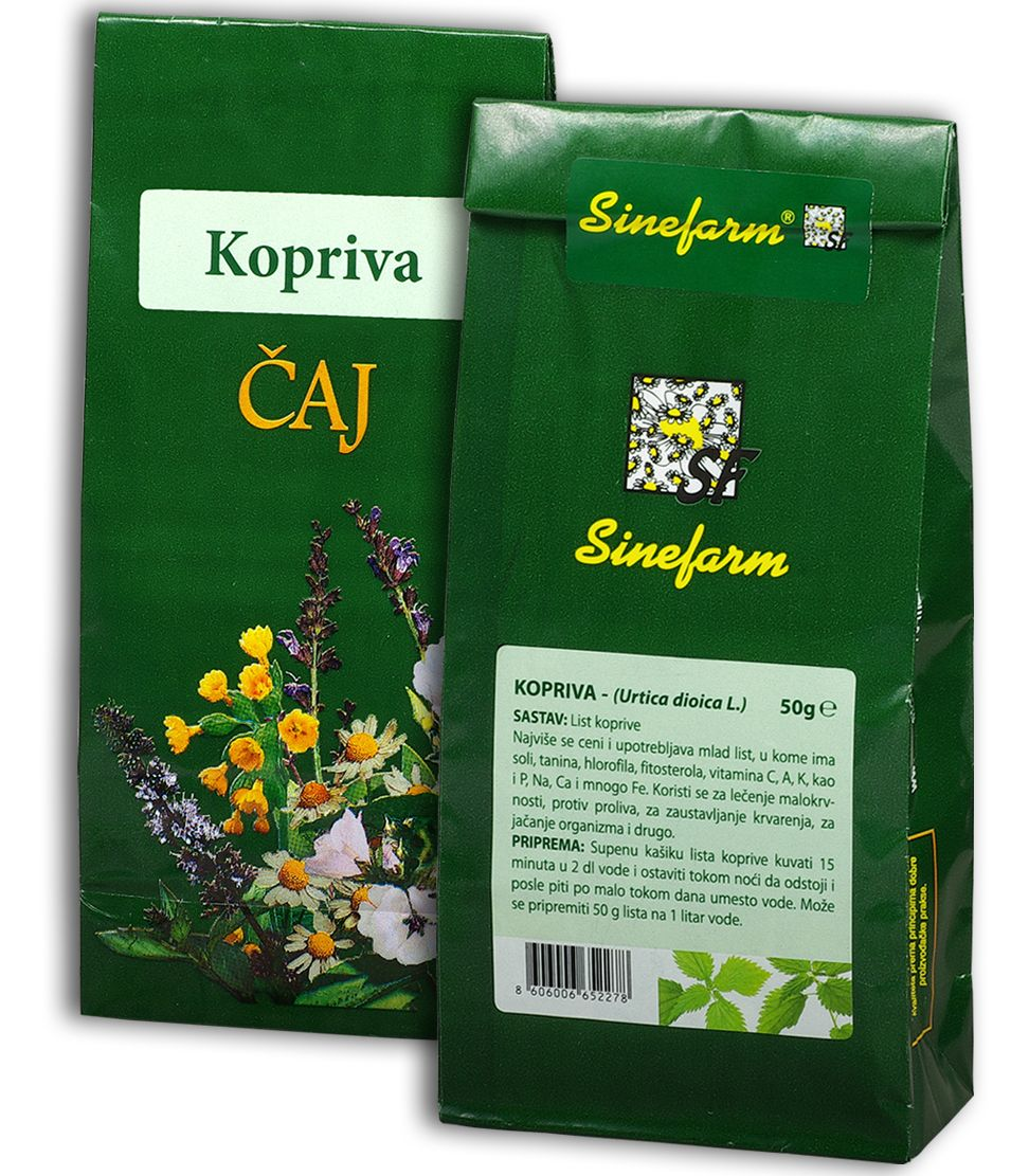 Kopriva čaj-50 g-e