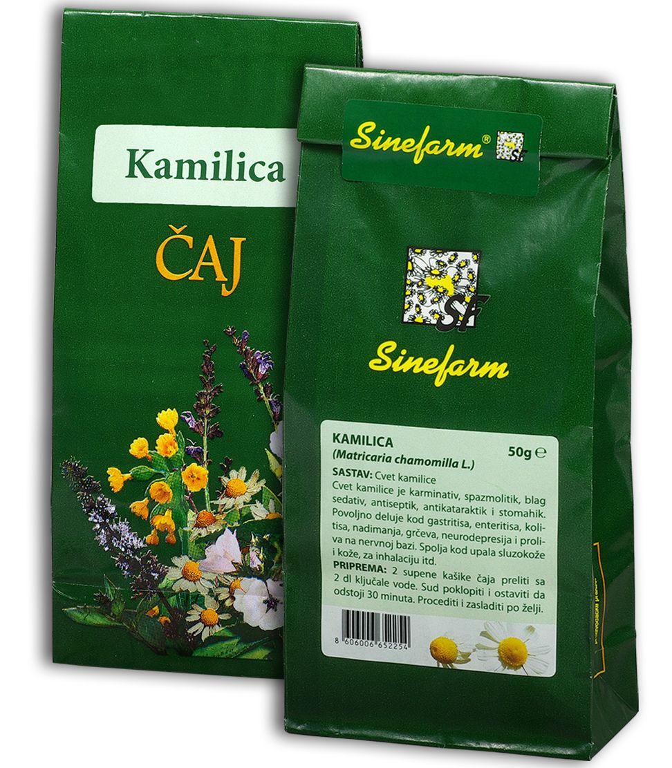Kamilica čaj-50 g-e