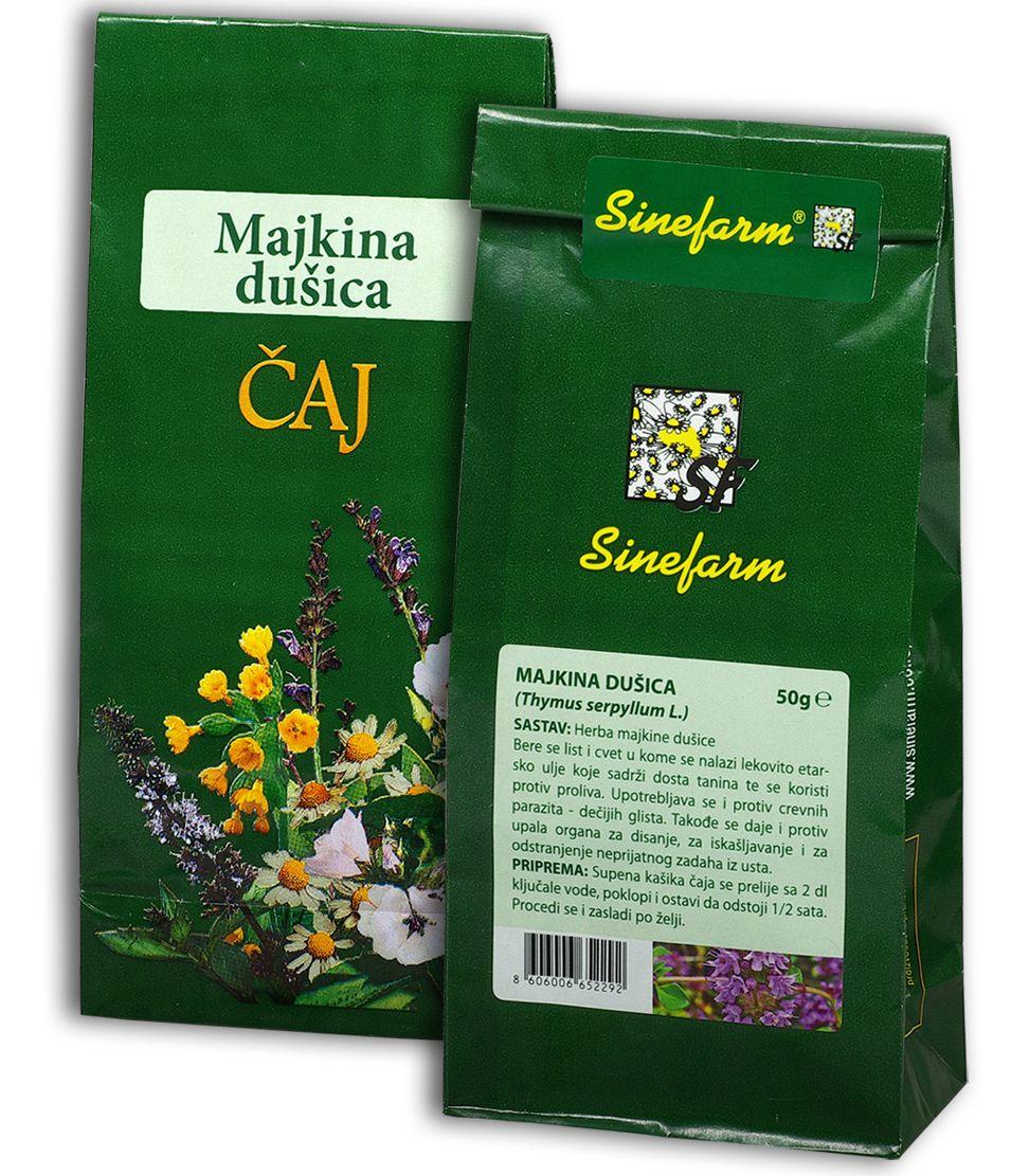 Majkina dušica čaj-50 g-e