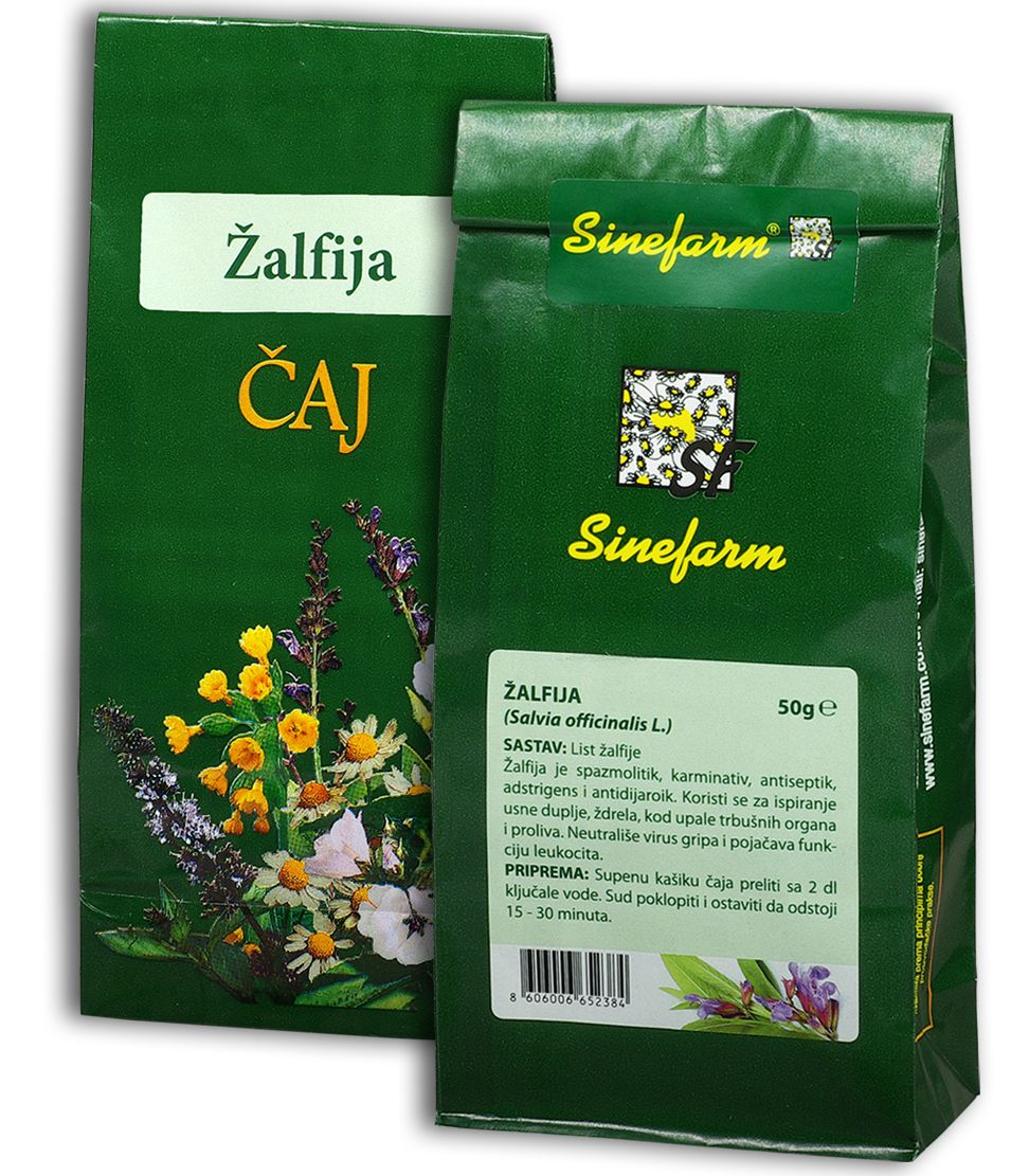 Žalfija čaj-50 g-e