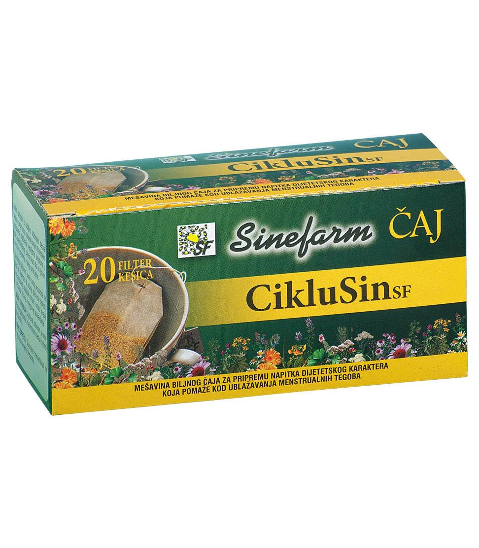 Čaj protiv menstrualnih tegoba -30 g-e <br>filter kesice-CIKLUSIN