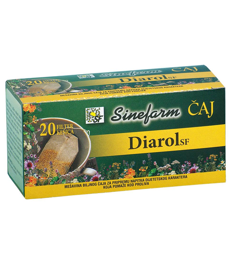 Čaj protiv proliva -30 g-e filter kesice-DIAROL