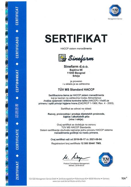 HACCP-SR