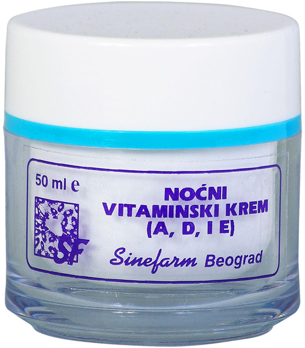 Krem za noć sa vitaminima A,D i E<br>-50 ml-e