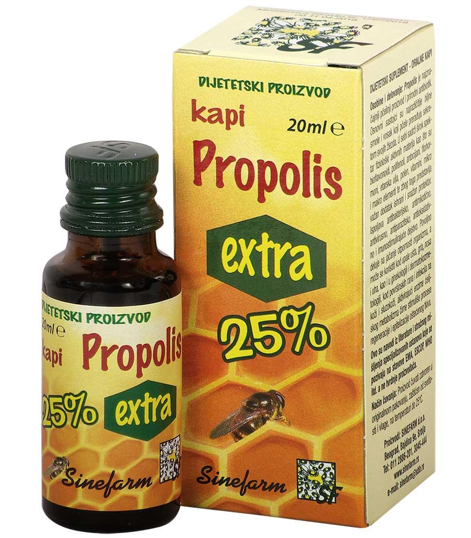 Propolis kapi-EXTRA 25%-20 ml-e