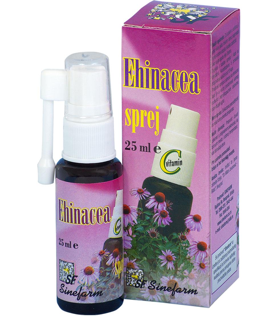 Ehinacea sprej sa C vitaminom-25 ml-e