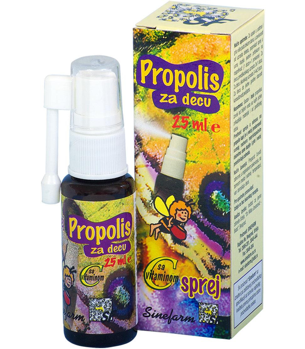 Propolis sprej za decu sa C vitaminom<br>-25 ml-e