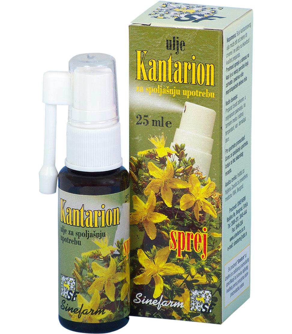 Ulje od kantariona-SPREJ-25 ml-e