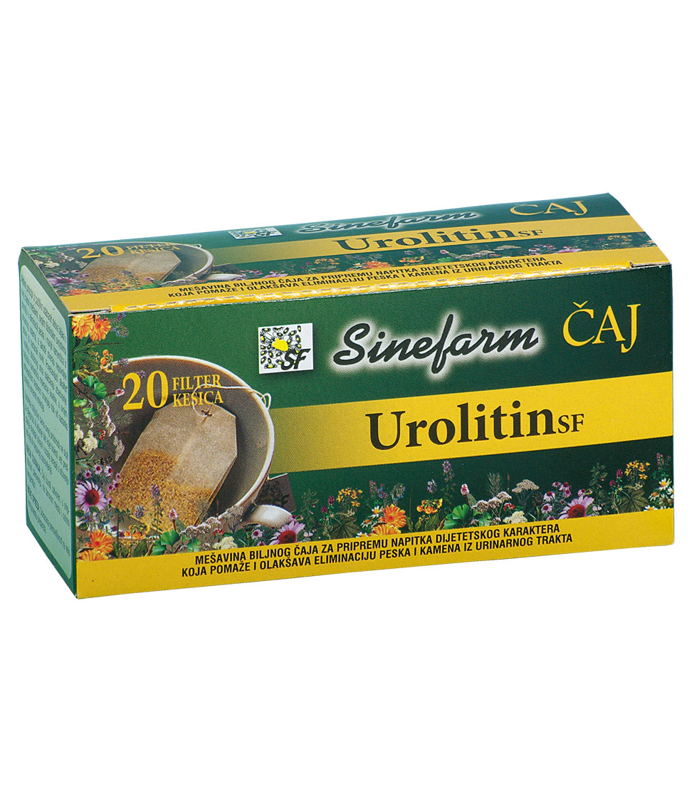 Čaj protiv kamena u bubrezima -30 g-e <br>filter kesice-UROLITIN