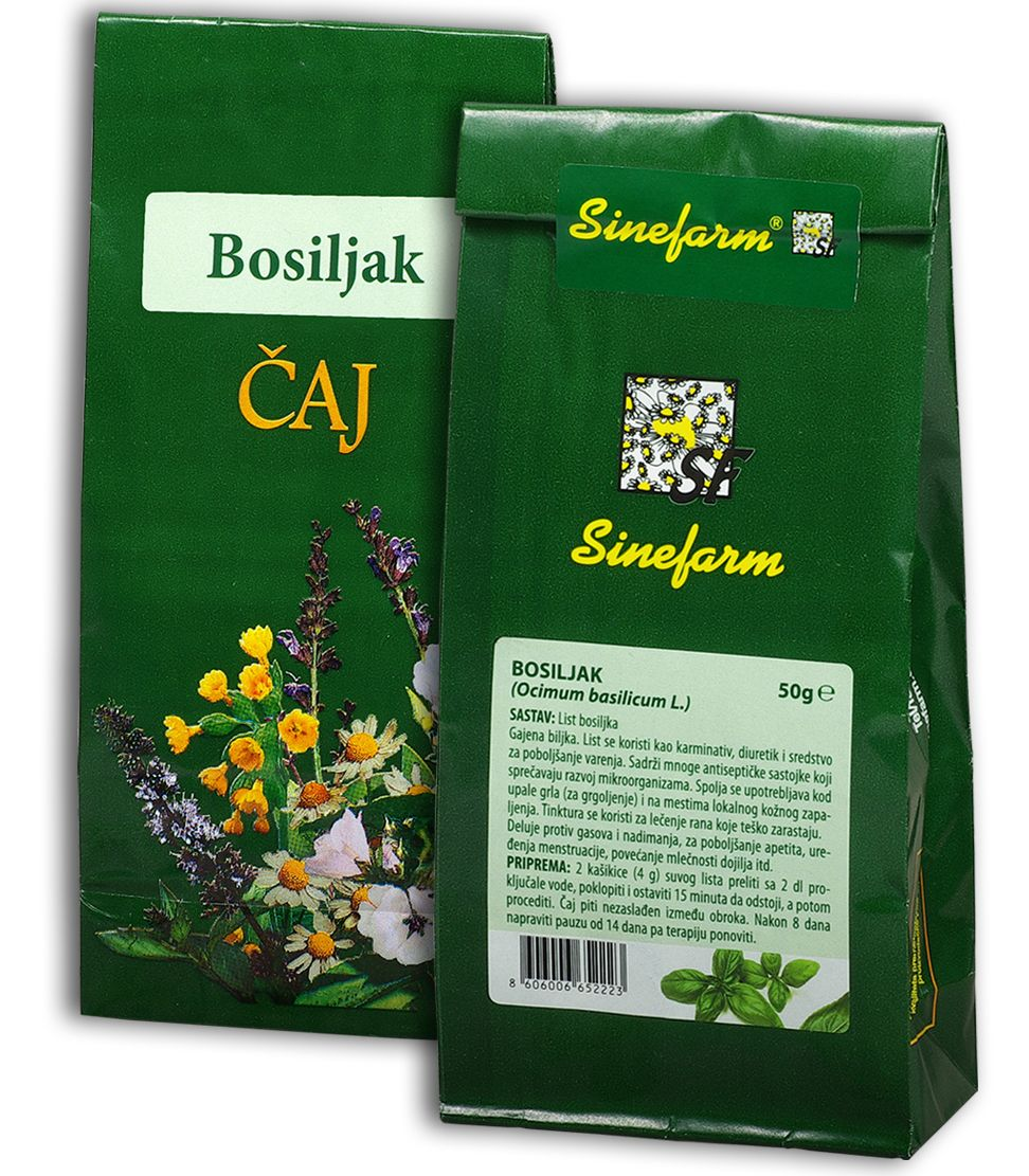 Bosiljak čaj-50 g-e