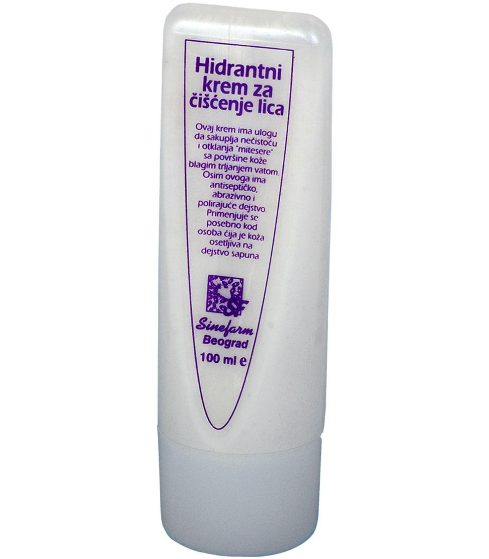 Krem hidrantni za čišćenje lica-100 ml-e