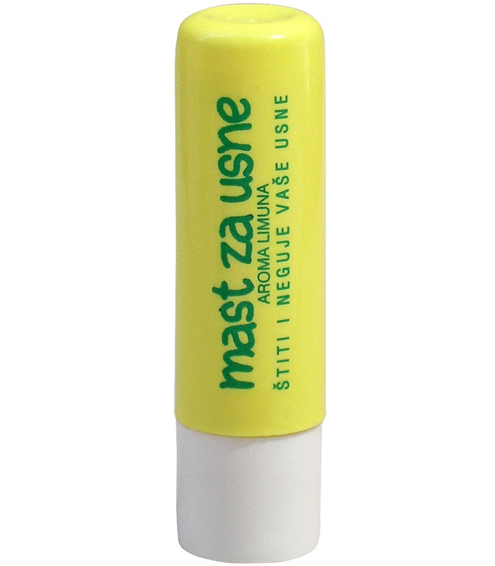 Mast za usne-stik -aroma limuna-