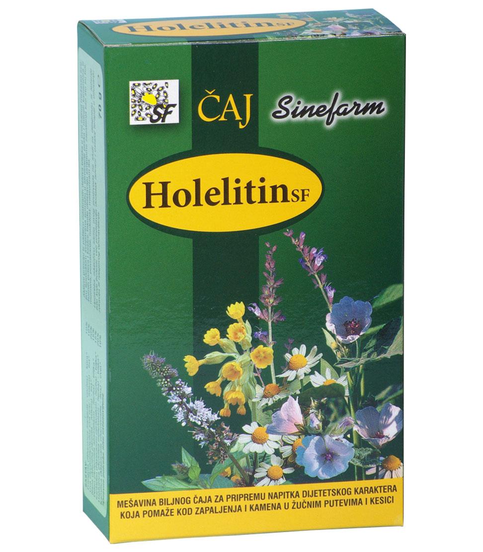 Čaj protiv kamena u žuči-70 g-e rinfuz-HOLELITIN